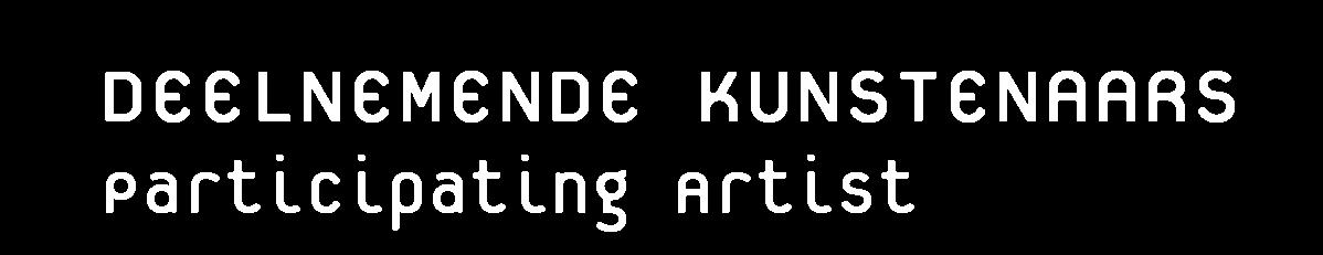 deelnemende kunstenaars 3